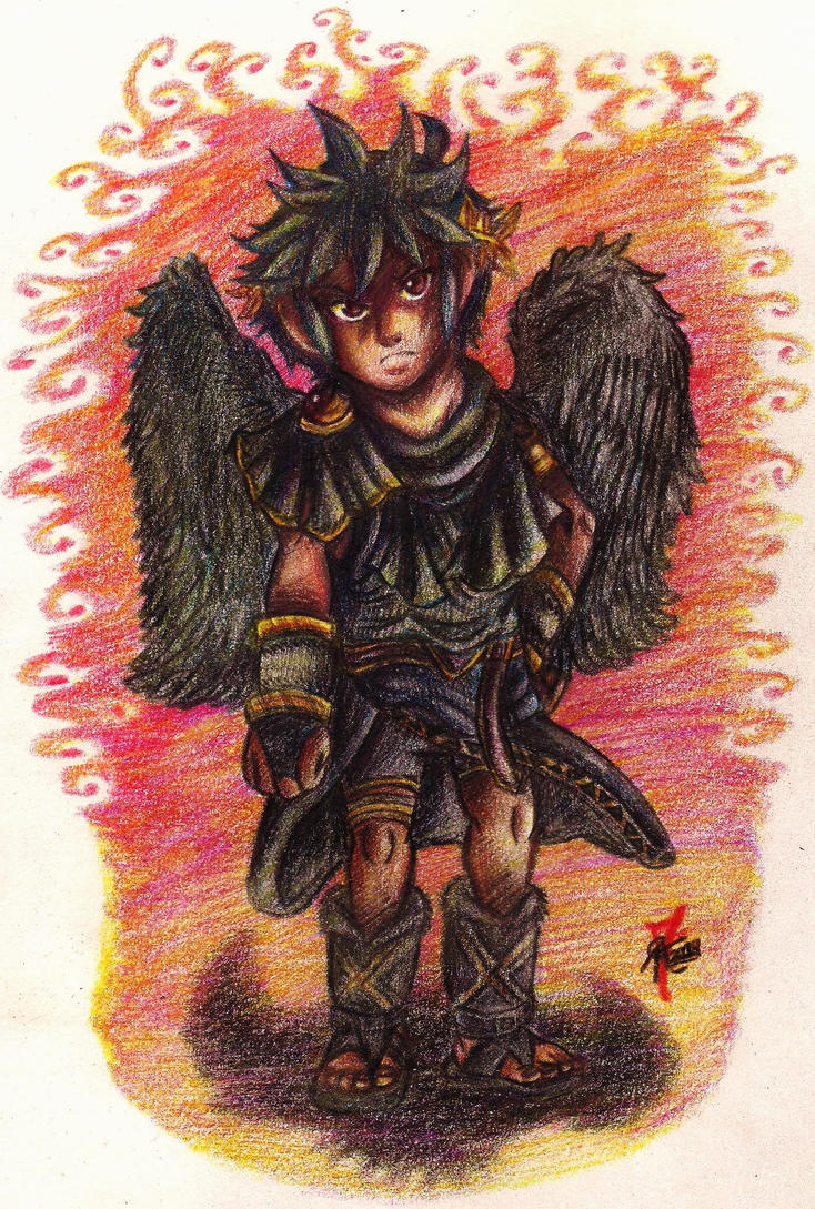 .:- Kid Icarus Uprising- Servant to no other - :. by PrideAlchemist7