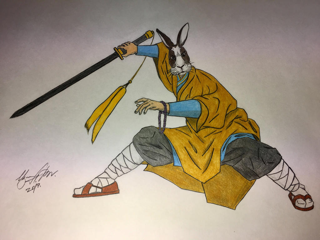 Shaolin warrior monk by IzmaylovNail