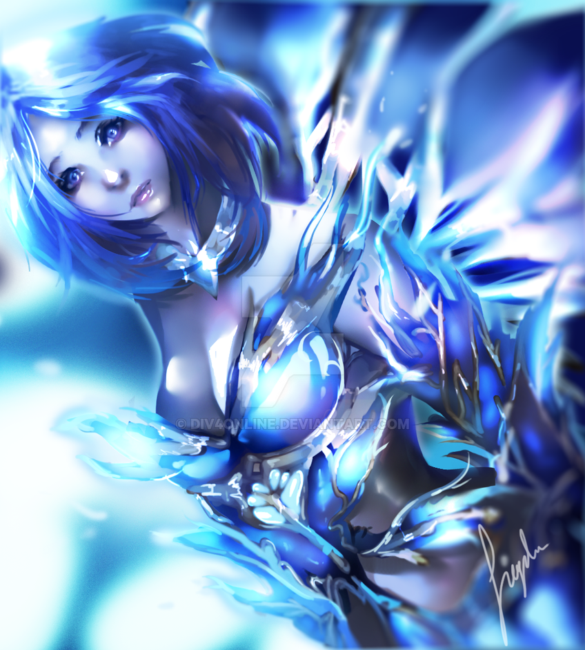 Crystal knight of the azure dream by DiV4Online