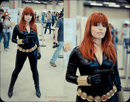 Black Widow Cosplay at BrasilComicCon by plu-moon