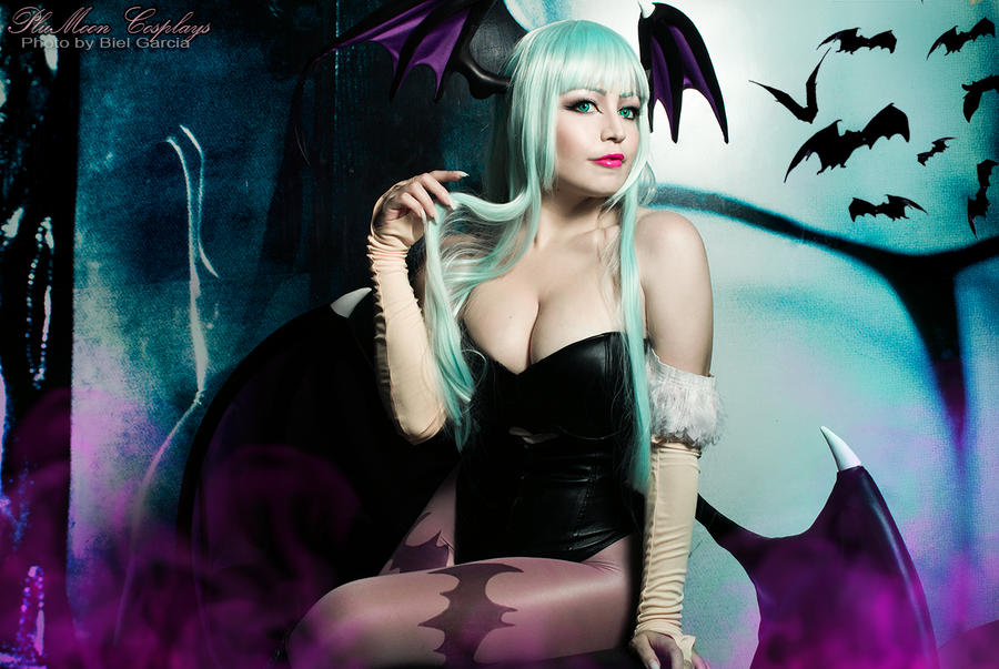 Morrigan Aensland from Darkstalkers by plu-moon
