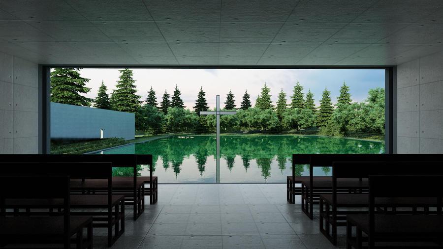 Church on the water - Tadao Ando