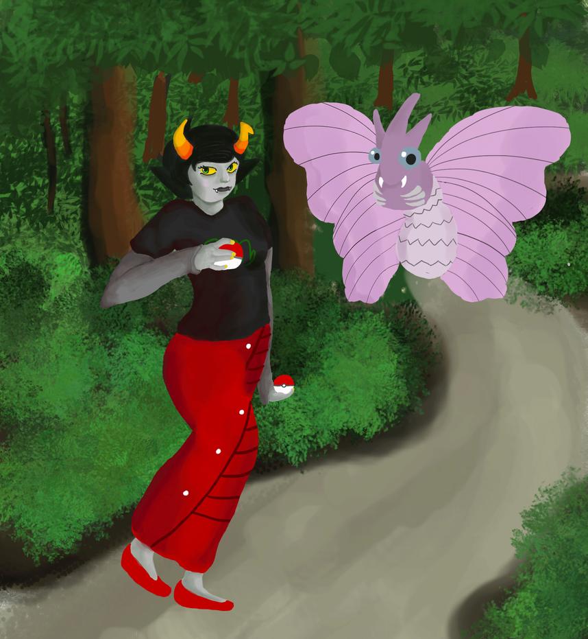 Kanaya wants to fight! by Akayomi