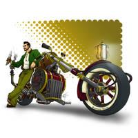 Steampunk Bike by VOLT-reborn