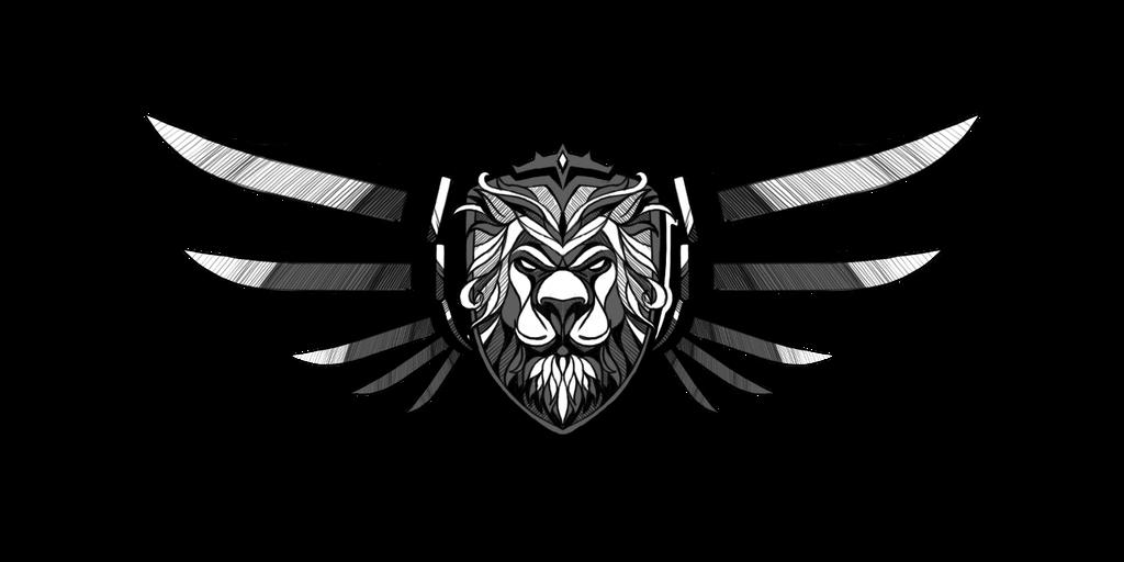 Lion Logo Design Black And White