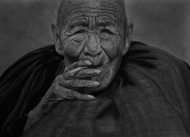 The Smoking Monk