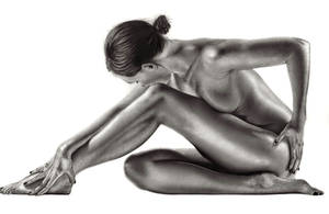 Female Bodyscape Drawing 2 by Paul-Shanghai