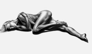 Female Bodyscape Drawing Bonus :) by Paul-Shanghai