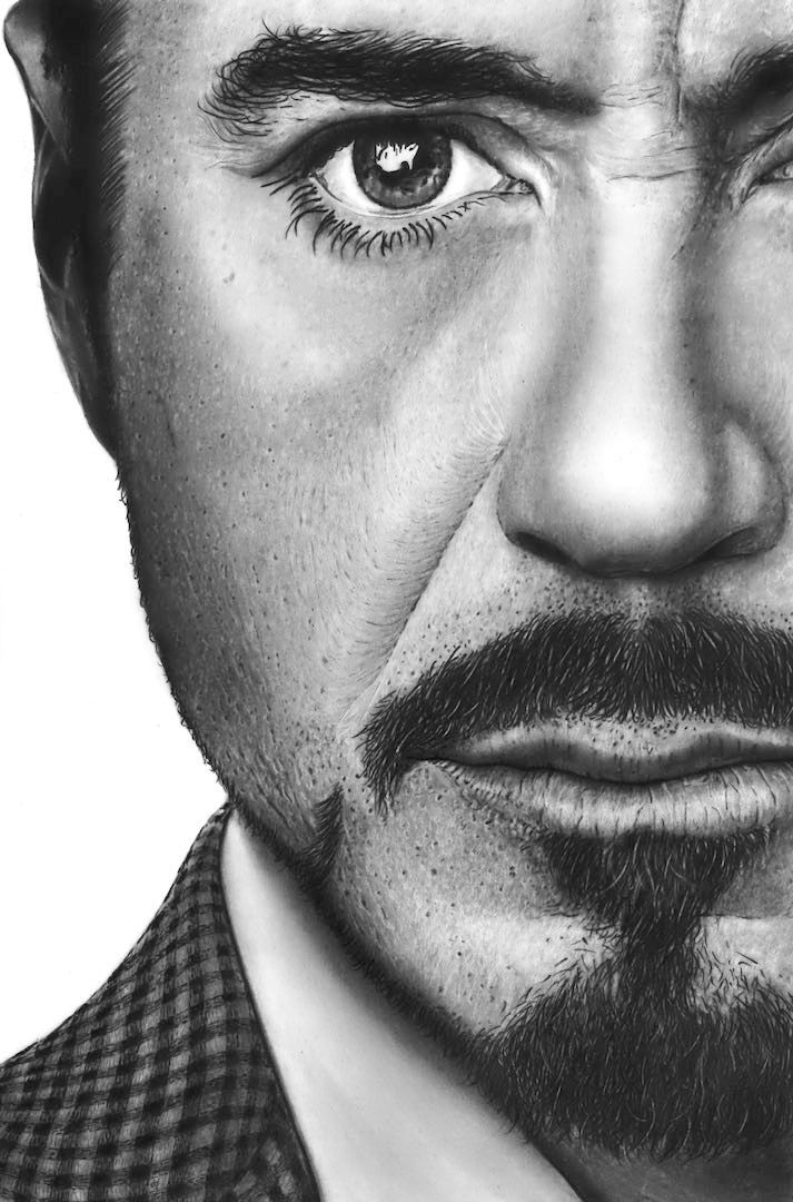 Robert Downey Jnr by Paul-Shanghai