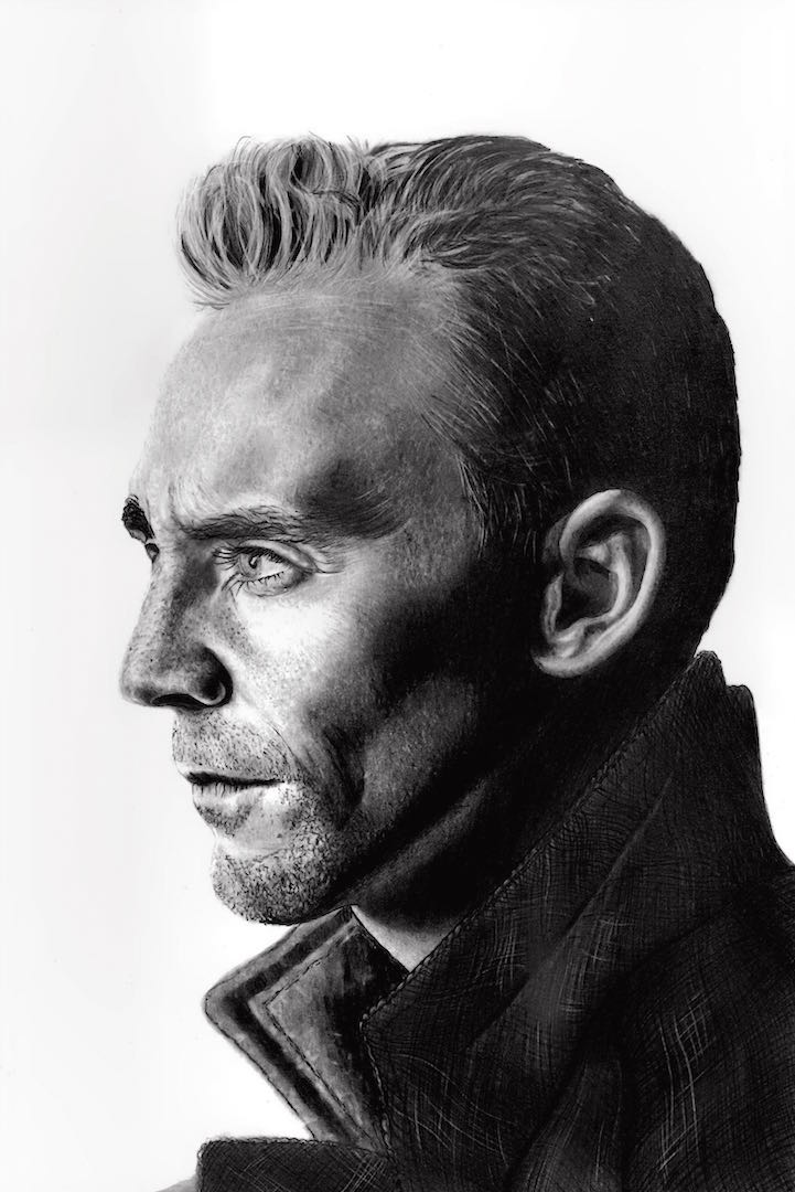Tom Hiddleston by Paul-Shanghai