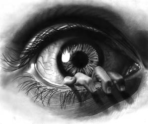 'Eye' want to be free!
