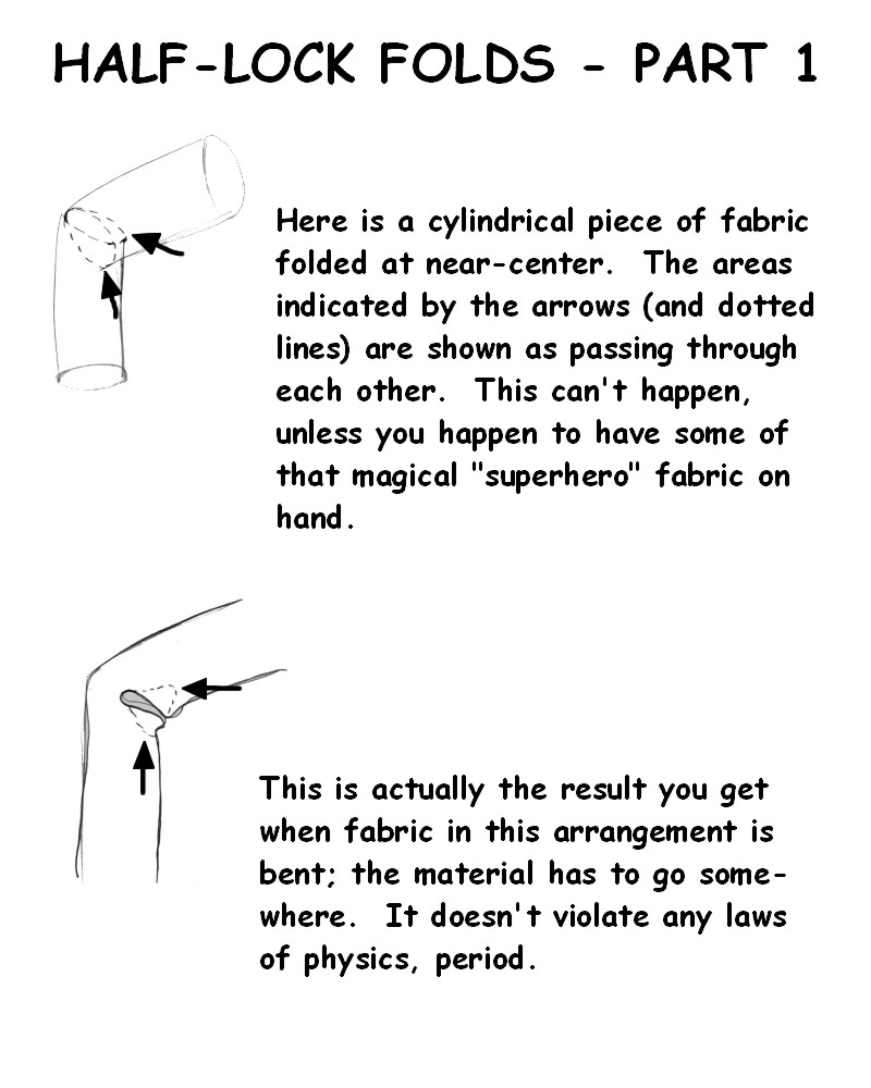 Folds - Half-Lock by ZejanNoSaru