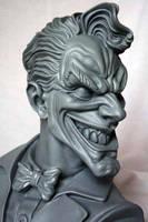 Joker bust 1 by ThiagoProvin