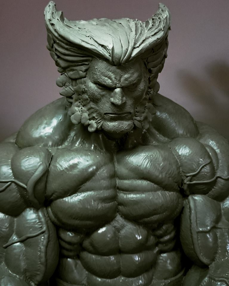 Wolverine 1/4 scale by ThiagoProvin