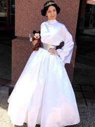 Disney Princessified Leia Gown by AdornCosplay