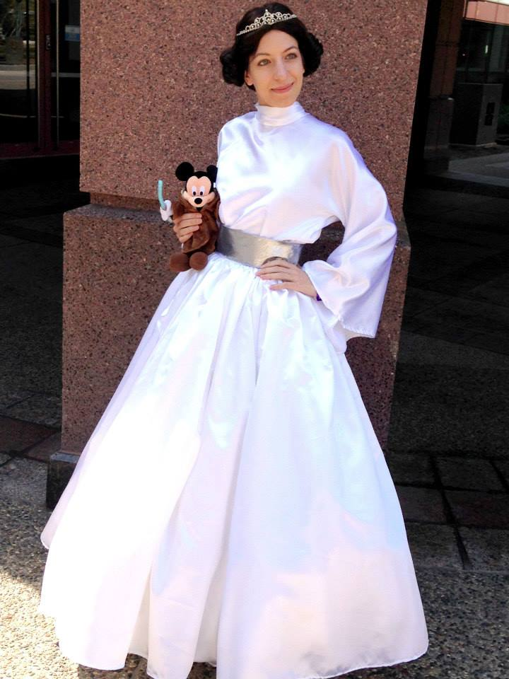 Disney Princessified Leia Gown