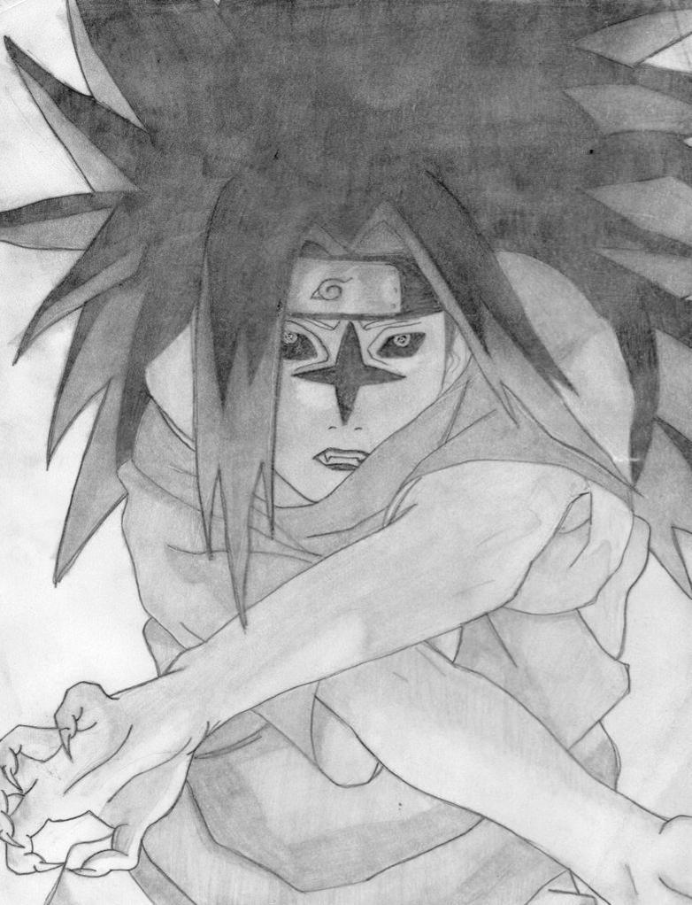 curse mark level 2 sasuke by Kevinmitarashi on DeviantArt