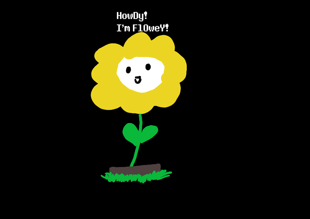 Flowey png by tinypancakes123