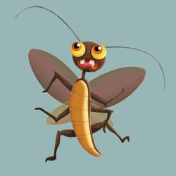 Cockroach by Flufflepot