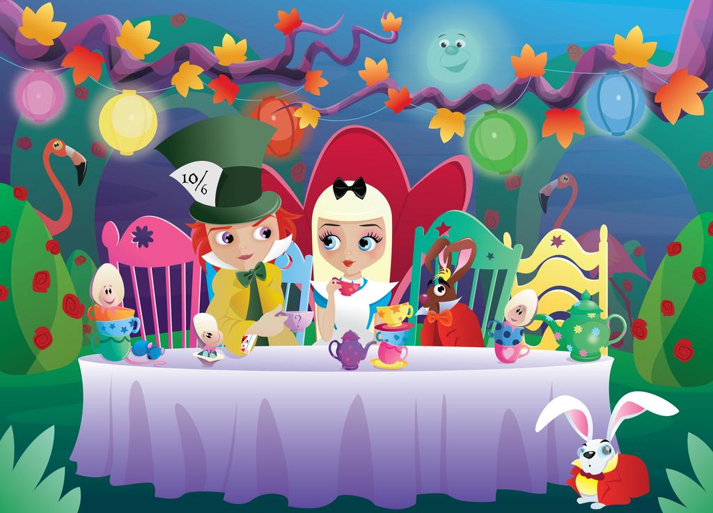 Tea Party by Flufflepot