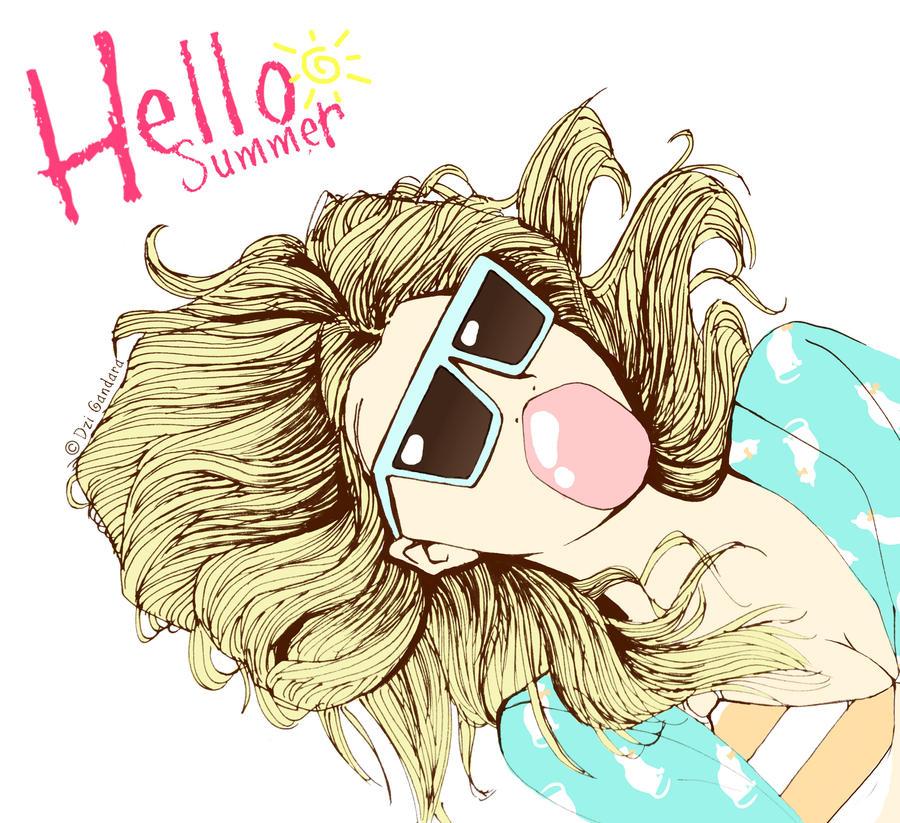 Hello Summer by DziGokey