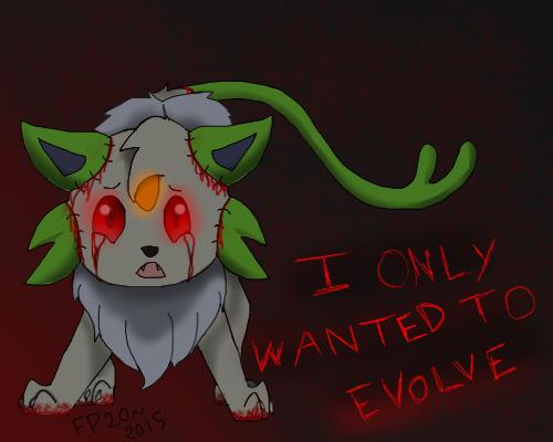 eeeee creepypasta pokemon by fireprinces20 on deviantart