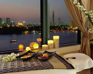 cairo tower from four season's hotel in Egypt 2 by heshamahmed