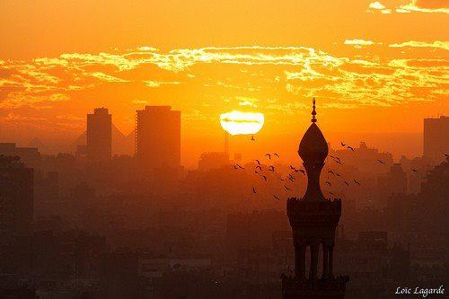 sunset in Egypt by heshamahmed