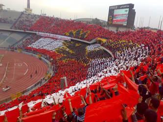 Ultrus Ahly football club by heshamahmed