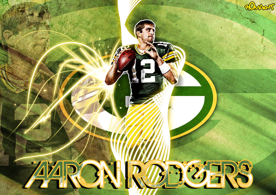 aaron rodgers by r0maint on deviantart