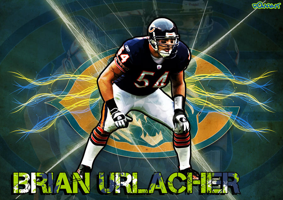 Brian Urlacher by R0mainT on DeviantArt