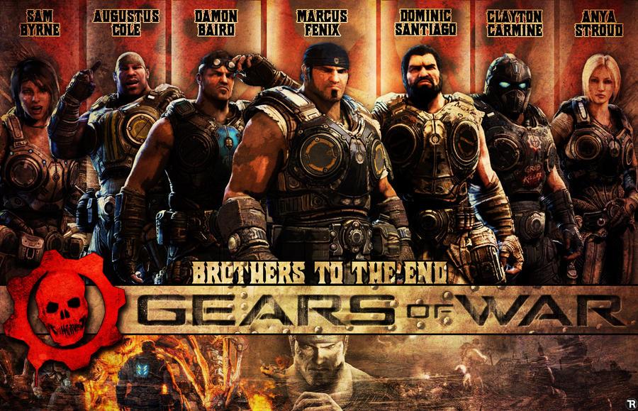 Gears of War Wallpaper by R0mainT ...