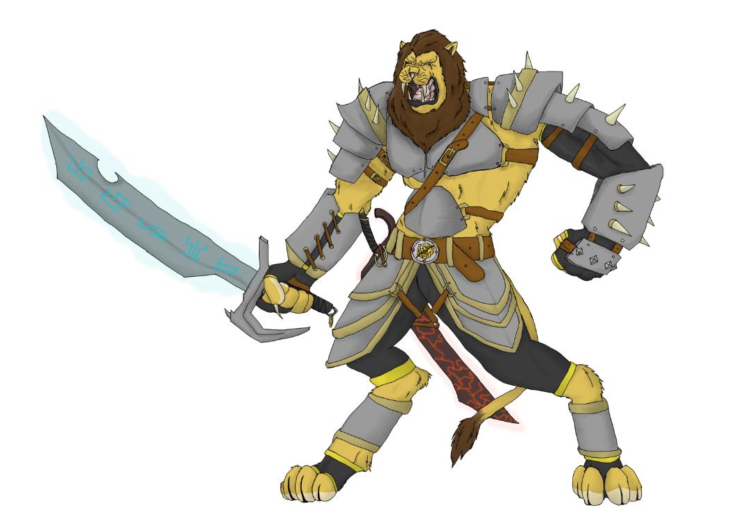 Deviantart Lion Warrior: Lion Warrior By Hurricane-Falcon On DeviantArt