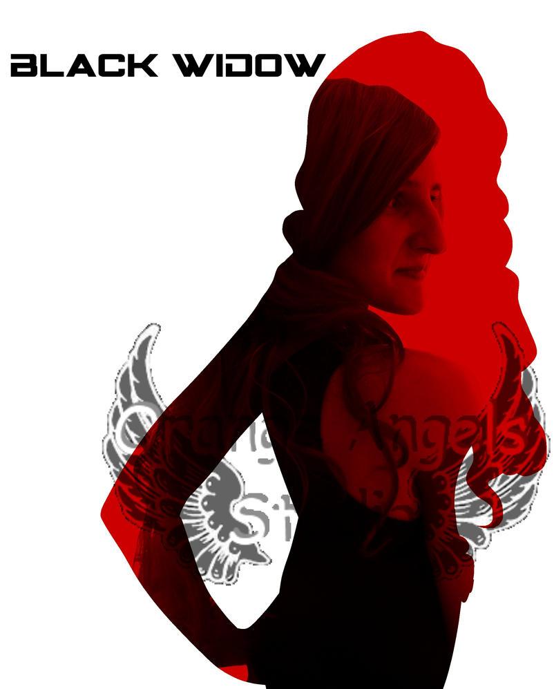 Avenger Silhouette: Black Widow by OrangeAngelsStudio on ...