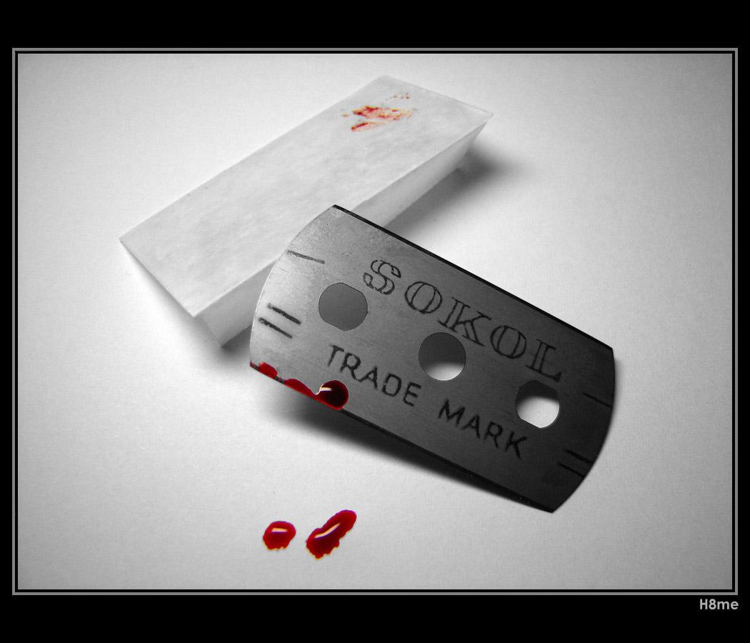 Razorblade romance by H8me-CZ