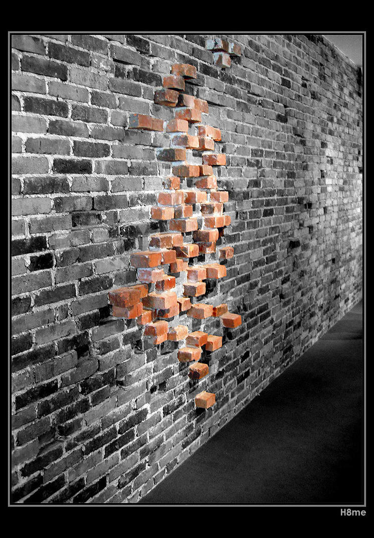 Another bricks in the wall by H8me-CZ