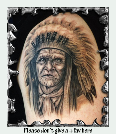 Old Indian Chief by mojotatboy by ~tattooonline on deviantART