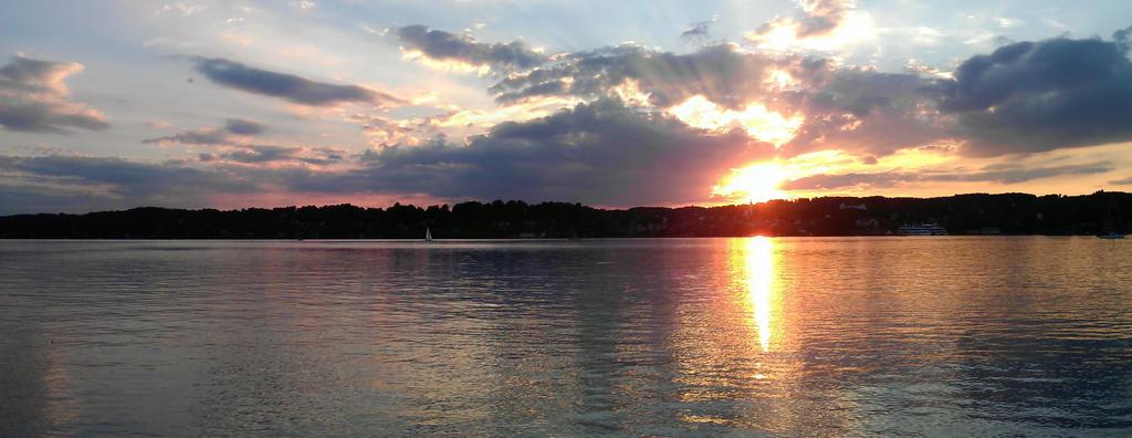 Sunset IV - panorama by Aqua-Designs