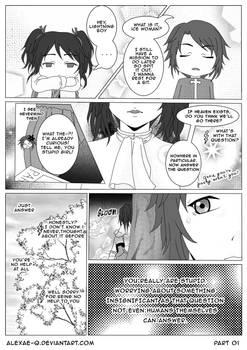 PARADISO - HisaGiri fancomic PART 1