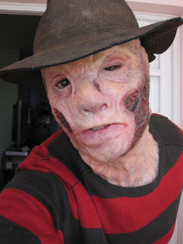 Freddy Krueger silicone mask by Lord-Stark