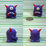 Gnoble the Timid Monster by TimidMonsters