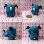Haley the Timid Monster by TimidMonsters