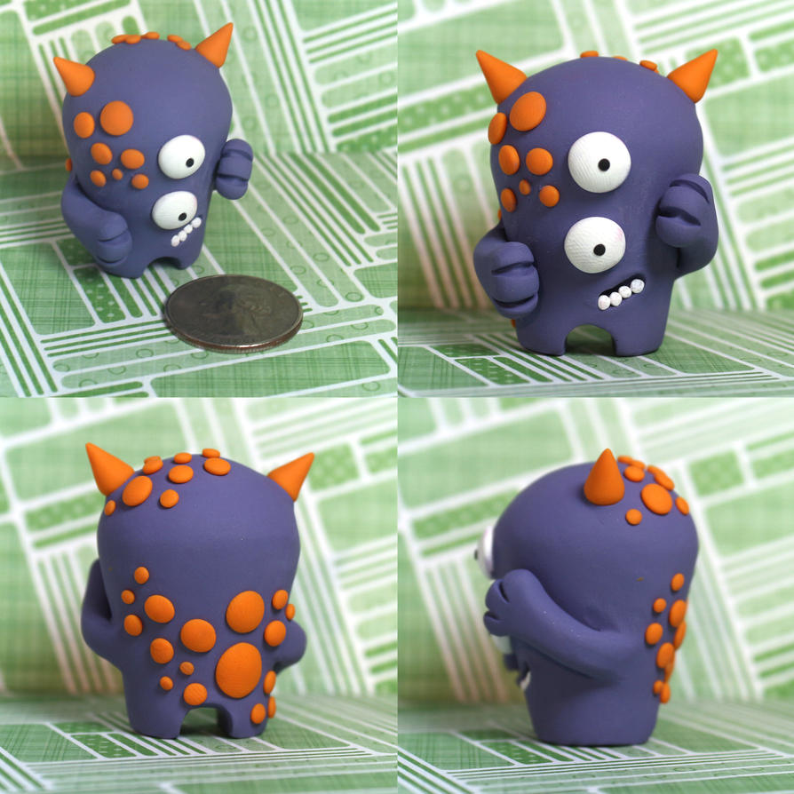 Oksa the Timid Monster by TimidMonsters