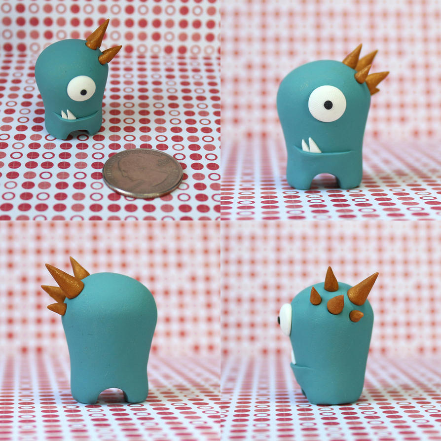 Rook the Timid Monster by TimidMonsters
