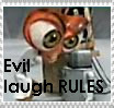 Evil Laugh Rules Stamp by dr-cockroach
