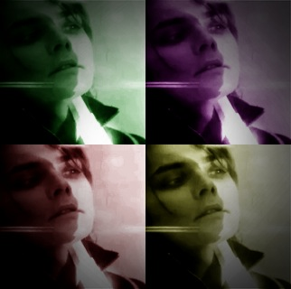 Gerard Way getting Shot DX by norahs60