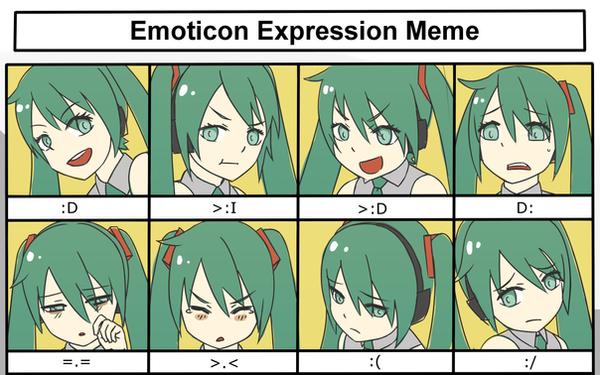 hatsune_miku___emoticon_expression_meme_by_kiiroikat d811va4 hatsune miku emoticon expression meme by kiiroikat on deviantart,Miku Meme