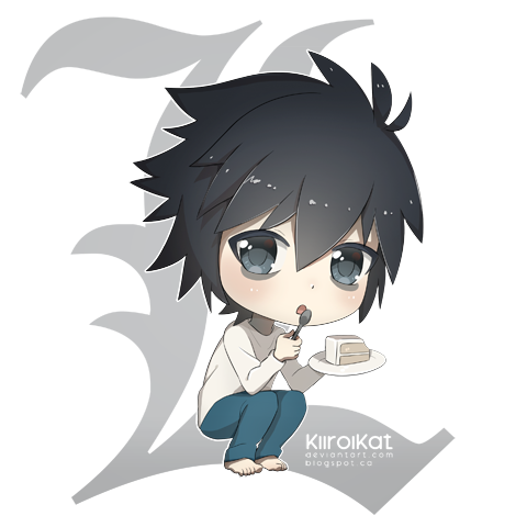 L Lawliet Chibi by KiiroiKat on DeviantArt