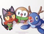 Pokemon Christmas Party