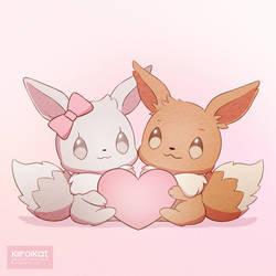 Happy Valentine's Day by KiiroiKat